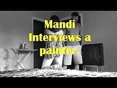 We interviewen een schilder