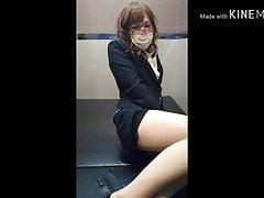 Japanese Crossdresser Tights Suit