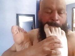 Mi piacciono i bei piedi in bocca