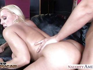 Beautiful sex Charlotte Stokely Sucks a Rock Hard Cock