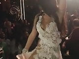 arabian hot babe dancing on the stage