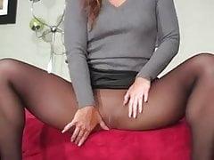 Pantyhose nero stuzzicare