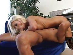 Skinny Blonde Teen gives a nice Blowjob and have good sex