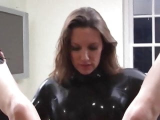 Lesbian Mature Bondage video: Strapon Jane Goes Deep - Scene 2