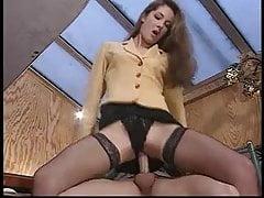 Brünette anal
