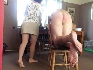 women spank wife