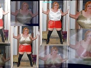 Big Boobs Bbw Lingerie video: MY BRA 100