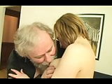 young blonde fucked by best friend grandfather