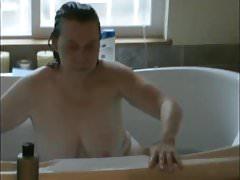 Hora do banho de Reba