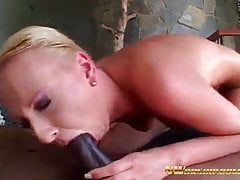 NWORSHIP Tracy doing blowjob and anal with bbc