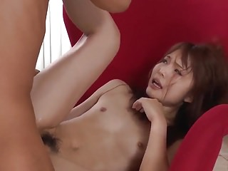 Exclusive home porn with naked Megumi Haruka