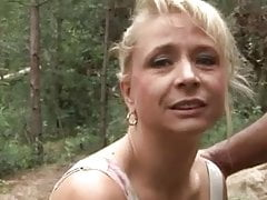 Vivia fucked in the woods