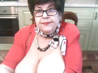 Big Tits Facial Granny video: Cute Grandma 2