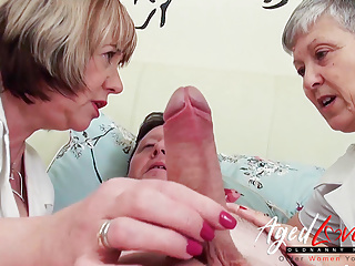 Threesome Mature Mom video: AgedLovE Naughty Nurses from Nasty Doctors Clinic