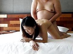 Fat man cazzo cinese hooker 2