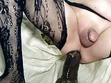 extreme bbc anal training for white sissy