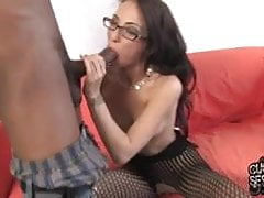 Veronica Jett used by 2 BBCs in front of cuckold