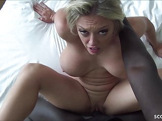 Interracial Hardcore Big Cock video: HUGE HANGING TITS MILF SANDY GET FUCK BY BBC AND CREAMPIE