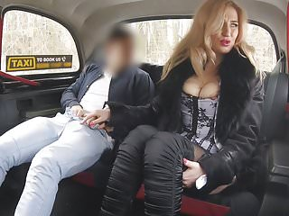 Lingerie Big Tits Car video: You have to suck my cock if don't have enought money