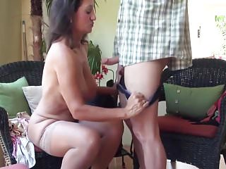 Cougar handjob cumshot movie think