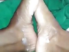 kremowe stopy jamajskie