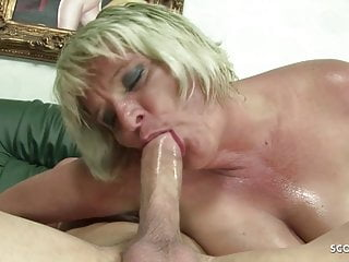 Hairy Hardcore Bbw video: Hairy Fat Mature Grandma Gabi Seduce to Fuck by Young Boy
