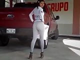 Chica en leggings