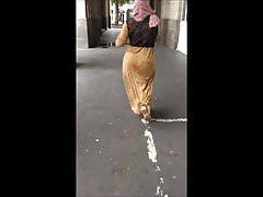 ¡El mejor culo jiggling árabe!