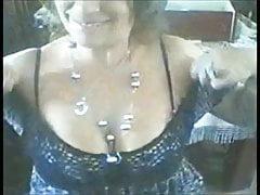 Horny mature flashing compilation - Coroa bunda gostosa