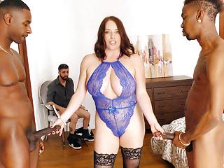 Cuckold Big Cock Big Tits video: Maggie Green Gets Revenge On Her Cuckold Employee