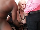 Granny With 2 BBC