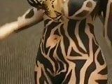 body paint horse