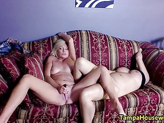 Big Tits Milf Lesbian video: Two Horny Girls with Toys featuring Ms Paris Rose