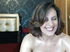 Heiße Mutter bei der Webshow 9