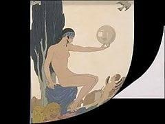 Erotische Kunst von George Barbier 3 - Imaginäre Leben