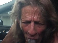 Gumjob In Car