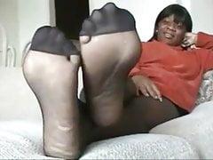 Ebony Isis Pantyhose