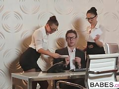 Babes - Office Obsession - Aidra Fox a Ariana Marie a Ma