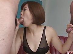 Tomoka Sakurai Deals Cock With Her Gentle - More At Pissjp.co