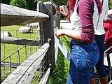 HOT Ebony Teen in Tight Jeans 1