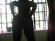 Sexy  Ebony Babe Moisturizing