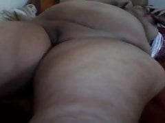 BBW araba si masturba
