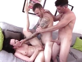 2 sexy hunks and 1 sexy girl threesome bi mmf