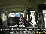British whore cocksucks and rides taxi driver