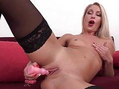 Beautiful MILF squirting during orgasm