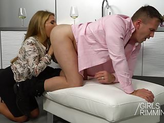 .Family Rimjob - GIRLSRIMMING  : The Wife.