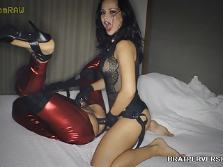 Clips4sale Hd Videos movie: Russian Top Model Pegging Initiation