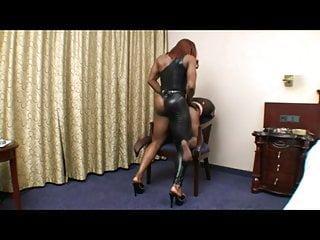 Best Strapon - black mistress fuck Teil 1
