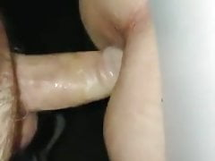 daddy likes bareback fuck of stranger's ass hole through GH