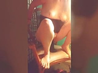 Amateur Squirting Milf video: Slut Wife Rachel Lane 12in BBC Dildo Anal Squirt Self Fist
